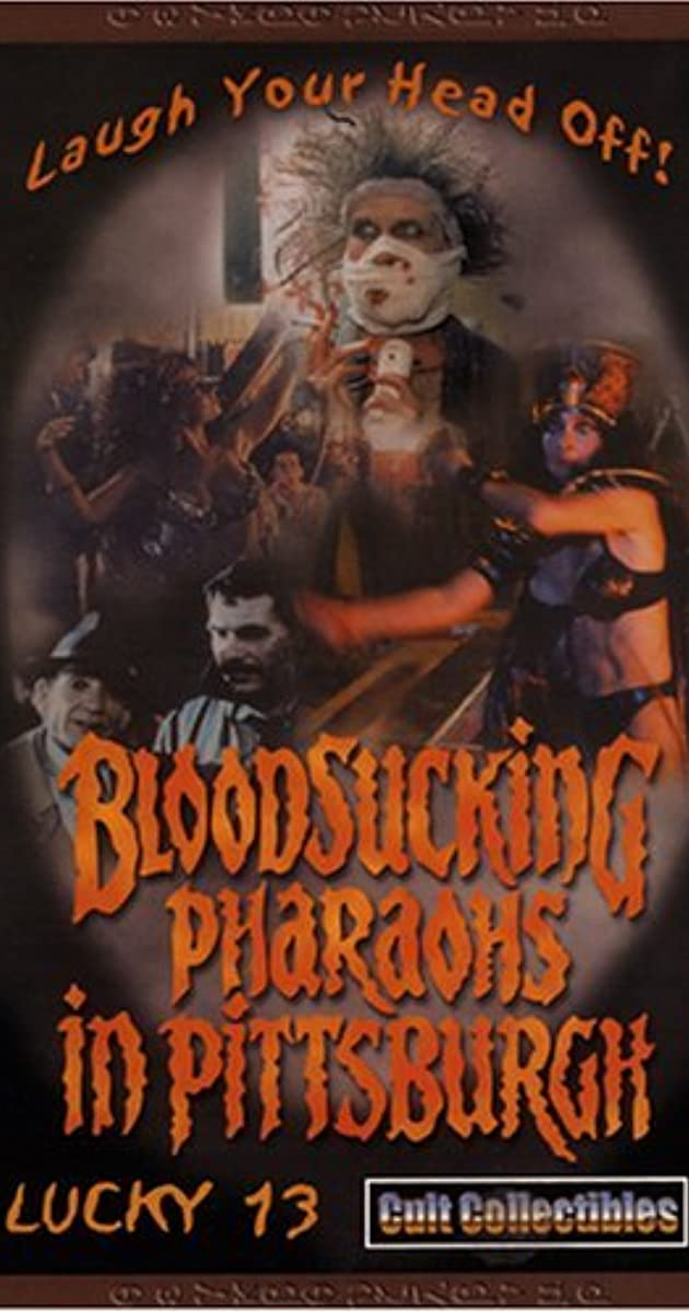 Subtitle of Bloodsucking Pharaohs in Pittsburgh