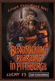Bloodsucking Pharaohs in Pittsburgh Poster
