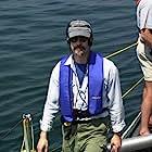 On the deck of U.S.S. Silversides, Lake Michigan