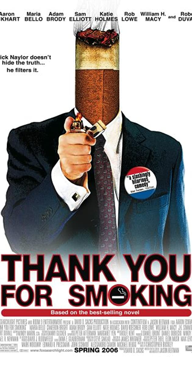 Thank You for Smoking (2005) - IMDb