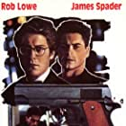 Rob Lowe and James Spader in Bad Influence (1990)