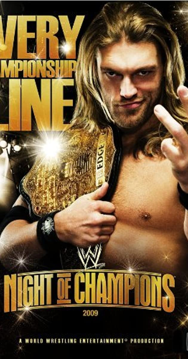 Wwe Night Of Champions 2009 Imdb