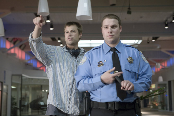 Seth Rogen and Jody Hill in Observe and Report (2009)