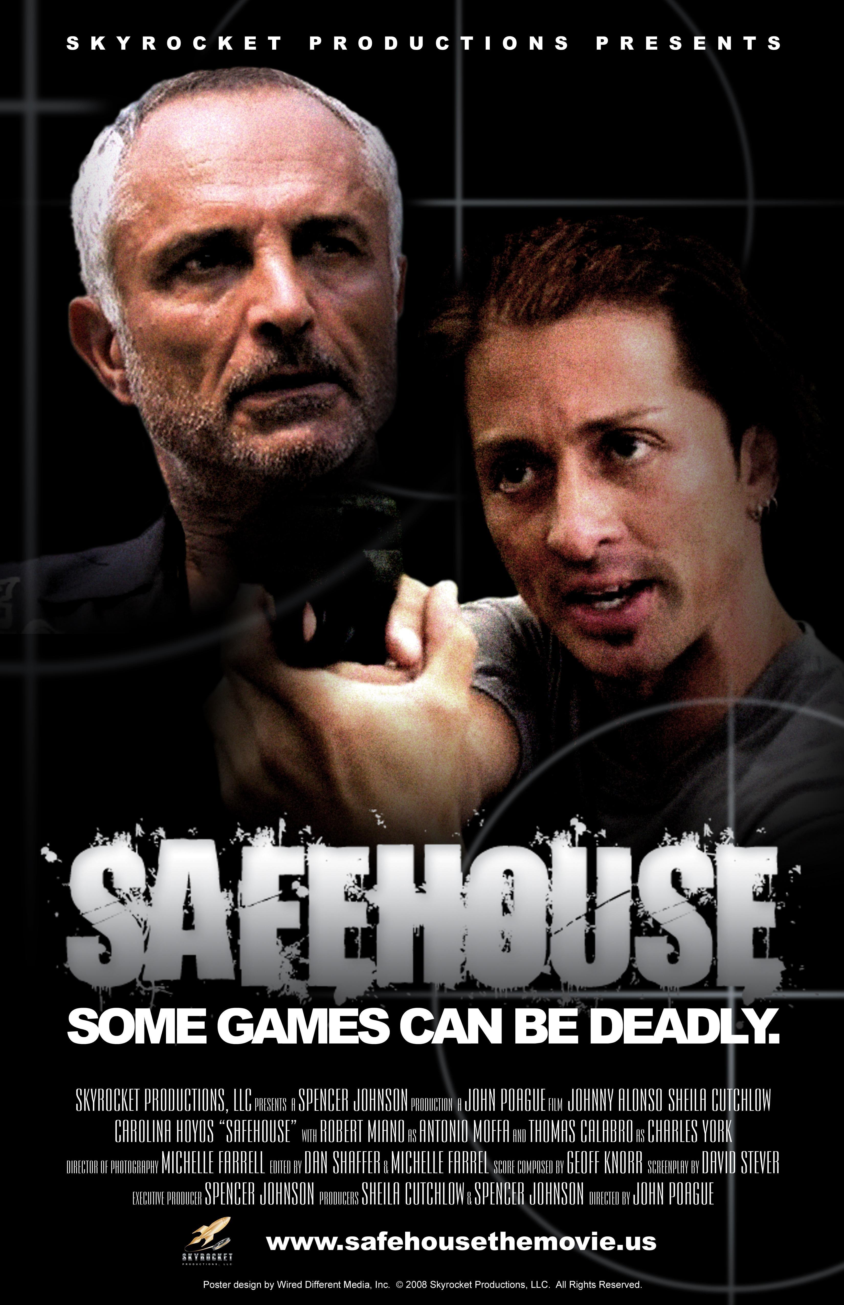 Johnny Alonso and Robert Miano in Safehouse (2008)