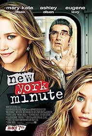 Ashley Olsen, Mary-Kate Olsen, and Eugene Levy in New York Minute (2004)