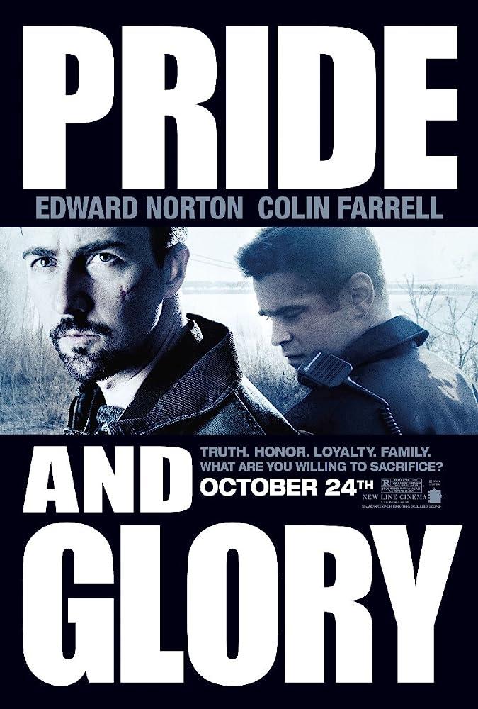 Edward Norton and Colin Farrell in Pride and Glory (2008)