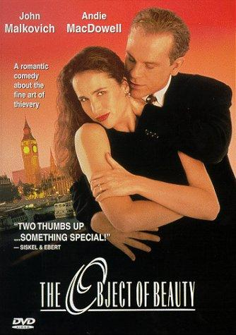 Andie MacDowell and John Malkovich in The Object of Beauty (1991)