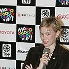 Christine Horne at the Tokyo International Film Festival.