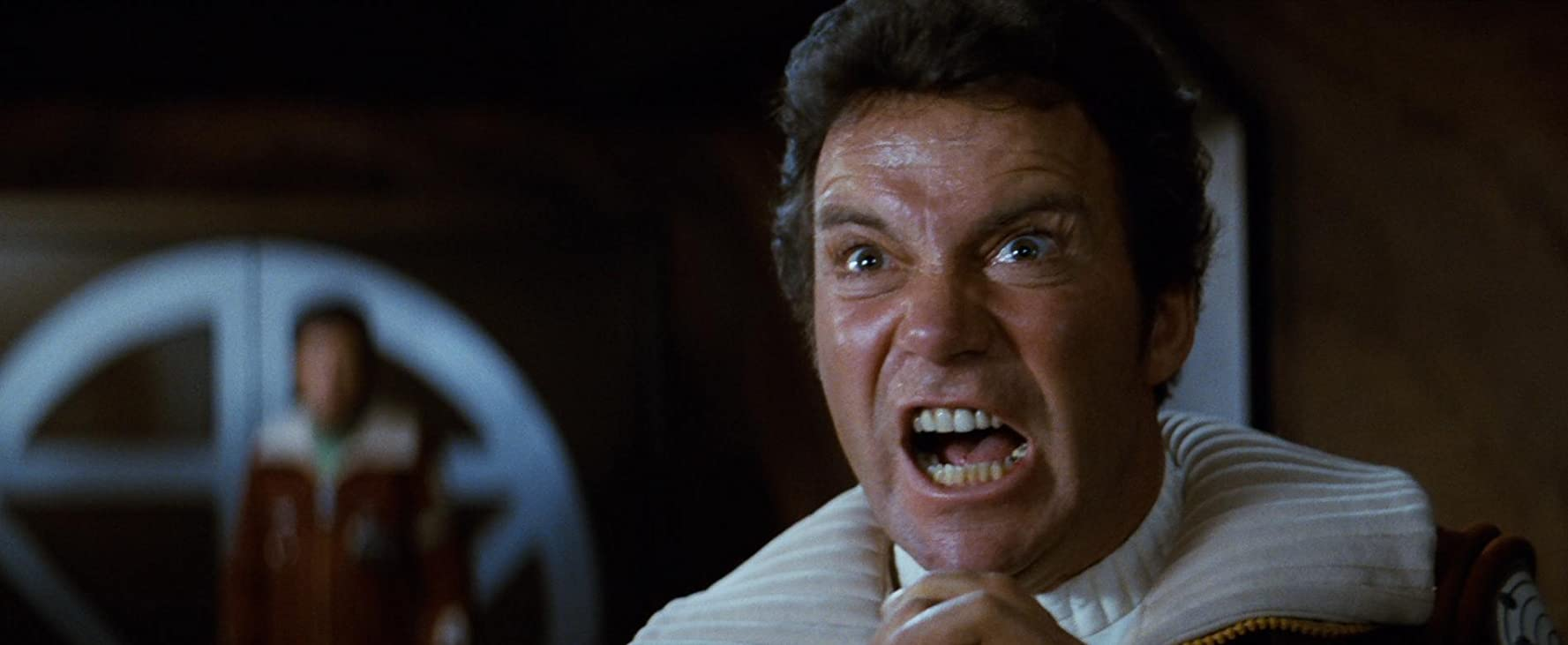 William Shatner in Star Trek II The Wrath of Khan 1982