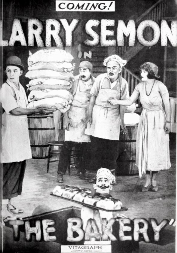 Larry Semon in The Bakery (1921)