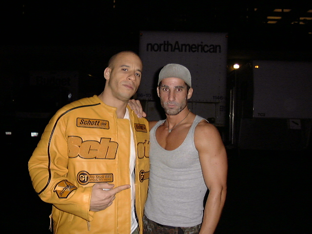 On the set of The Chronicles of Riddick (2004)