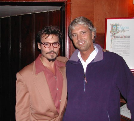 Johnny & Eddie relax after The Weinstein Company's The Libertine - World Premiere (11 November 2005)