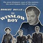 Robert Donat, Cedric Hardwicke, Margaret Leighton, and Jack Watling in The Winslow Boy (1948)