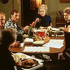 Matthew McConaughey, Woody Harrelson, Sally Kirkland, and Viveka Davis in Edtv (1999)