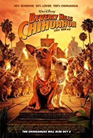 Drew Barrymore and George Lopez in Beverly Hills Chihuahua (2008)