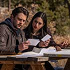 Nathan Parsons and Jeanine Mason in Tones of Home (2021)