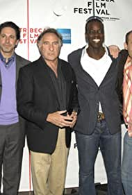 """Elliot Korte, Scott Cohen, Judd Hirsch, Ato Essandoh, Todd S. Yellin, director, and Jonathan Kaplan, executive producer at the 5th Annual Tribeca Film Festival - """"Brothers Shadow"""" World Premiere - April 30, 2006"""