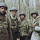 Sami Bouajila, Jamel Debbouze, Samy Naceri, and Roschdy Zem in Indigènes (2006)