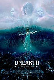 Adrienne Barbeau, Marc Blucas, Monica Wyche, P.J. Marshall, Allison McAtee, Rachel McKeon, and Brooke Sorenson in Unearth (2020)