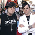 Benji Madden and Joel Madden at an event for The Perfect Man (2005)