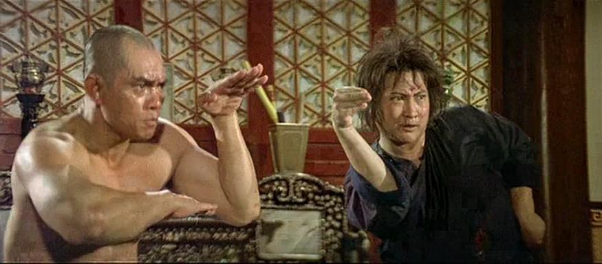Sammo Kam-Bo Hung and Sing Chen in San De huo shang yu Chong Mi Liu (1977)