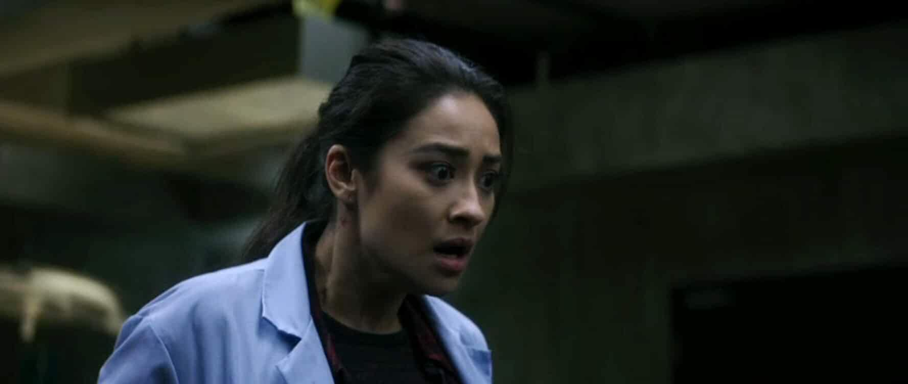 Shay Mitchell in The Possession of Hannah Grace (2018)