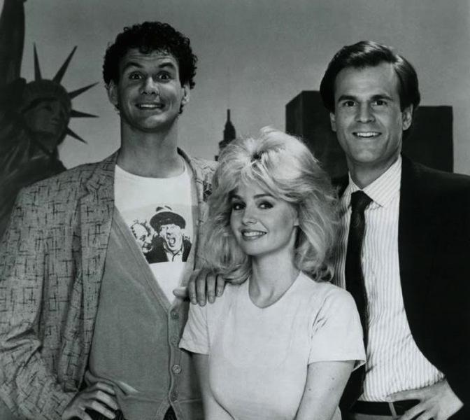 Teri Copley, John Hillner, and Tom Villard in We Got It Made (1983)