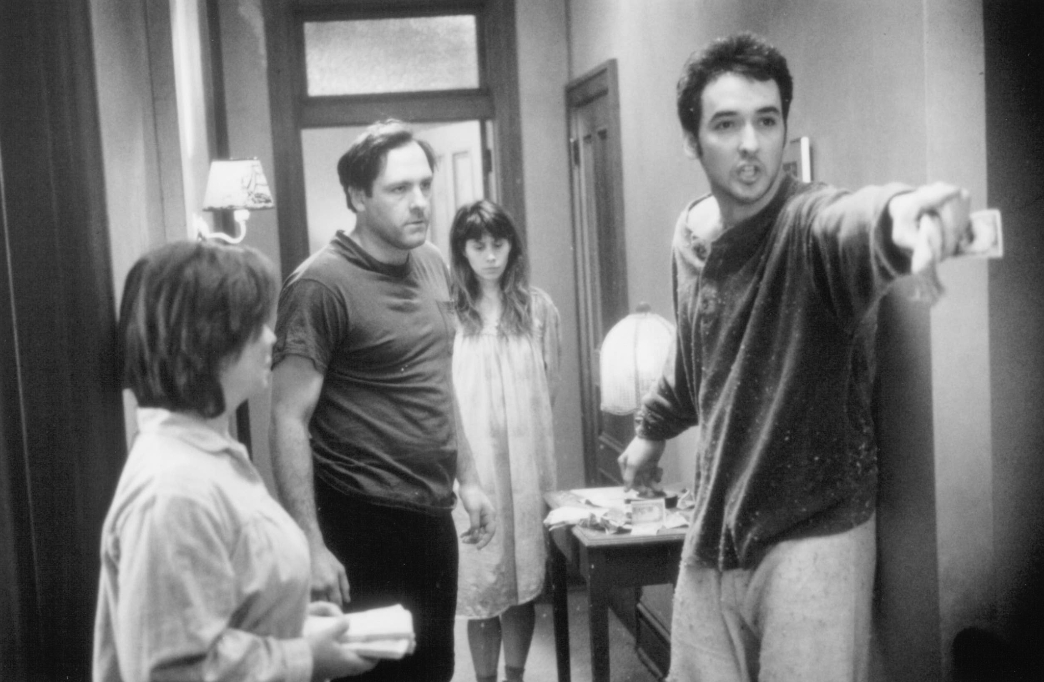 John Cusack and James Gandolfini in Money for Nothing (1993)
