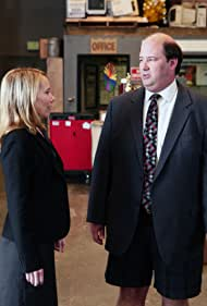 Amy Ryan and Brian Baumgartner in The Office (2005)