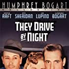 Humphrey Bogart, Ida Lupino, and George Raft in They Drive by Night (1940)