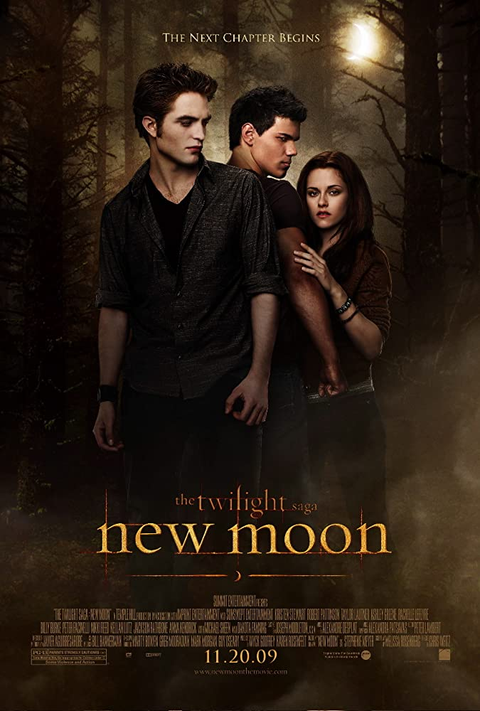 The Twilight Saga: New Moon 2009 Hindi ORG Dual Audio 450MB BluRay ESubs Download