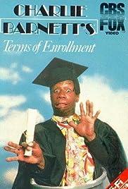 Charlie Barnett's Terms of Enrollment Poster