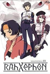Aya Hisakawa, Houko Kuwashima, and Hiro Shimono in RahXephon (2002)