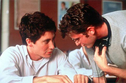 Jake Gyllenhaal and Richard Kelly in Donnie Darko (2001)
