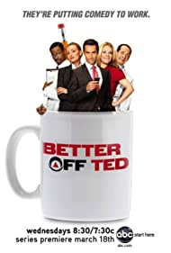 Portia de Rossi, Malcolm Barrett, Jay Harrington, Jonathan Slavin, and Andrea Anders in Better Off Ted (2009)