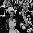 Bette Davis, Brian Aherne, and Donald Crisp in Juarez (1939)