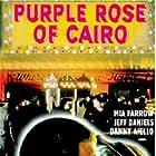 Jeff Daniels and Mia Farrow in The Purple Rose of Cairo (1985)
