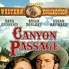 Dana Andrews and Susan Hayward in Canyon Passage (1946)