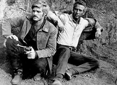 """Butch Cassidy and The Sundance Kid,"" Robert Redford & Paul Newman."