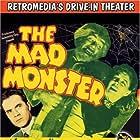 Johnny Downs, Anne Nagel, and Glenn Strange in The Mad Monster (1942)