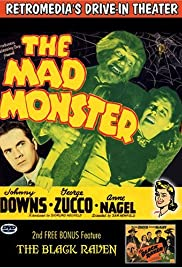 The Mad Monster (1942) starring Johnny Downs on DVD on DVD