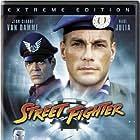 Jean-Claude Van Damme, Raul Julia, and Jay Tavare in Street Fighter (1994)