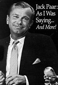 Primary photo for Jack Paar: 'As I Was Saying...'