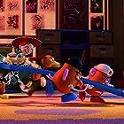 Joan Cusack, Tim Allen, Blake Clark, Estelle Harris, and Don Rickles in Toy Story 3 (2010)