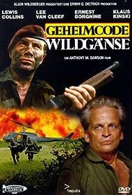 Klaus Kinski and Lewis Collins in Geheimcode Wildgänse (1984)