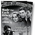 Gregory Peck and Susan Hayward in The Snows of Kilimanjaro (1952)