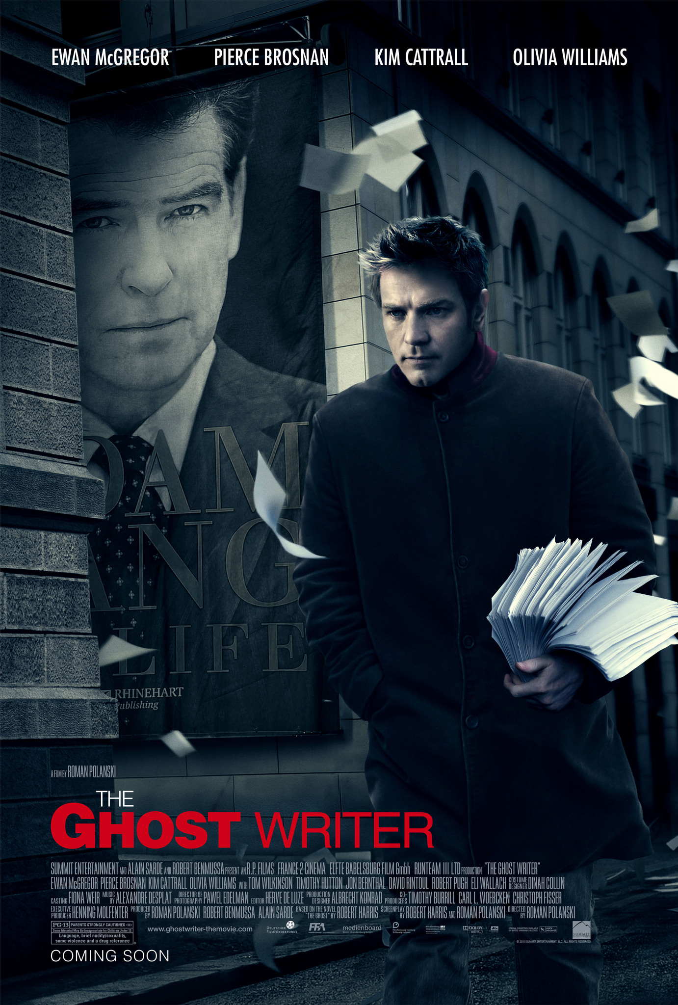 The Ghost Writer (2010) - IMDb