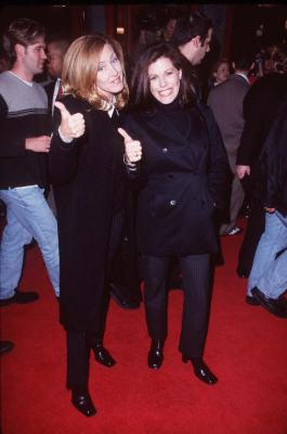 Joely Fisher and Tricia Leigh Fisher at an event for The Replacement Killers (1998)