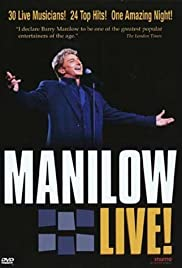 Manilow Live! Poster