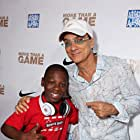 Jimmy Iovine and Bobb'e J. Thompson at an event for More Than a Game (2008)